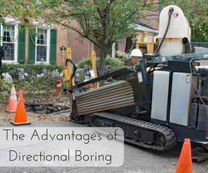 The Advantages of Directional Boring