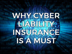 Why cyber liability insurance is a must graphic