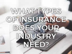 What types of insurance does your industry need graphic?